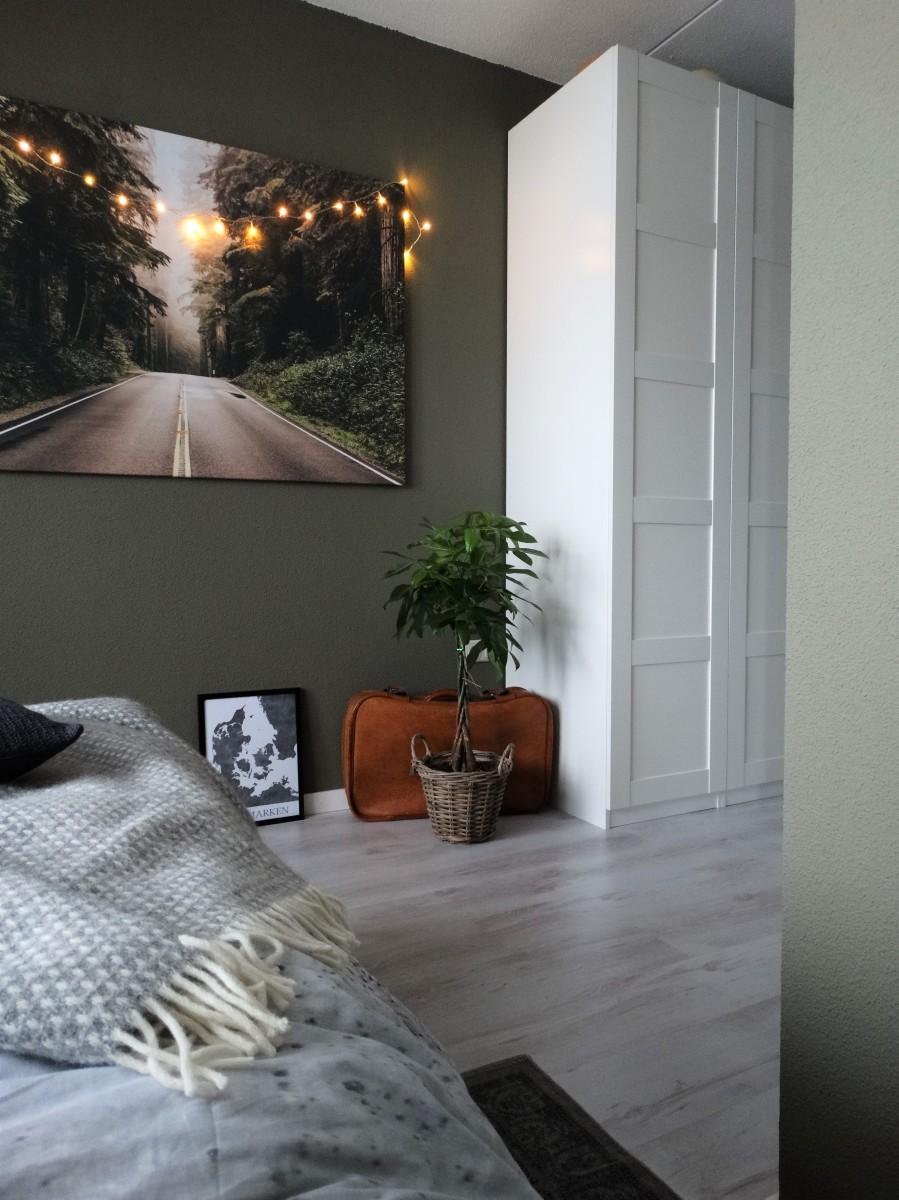 Nieuw huis - De slaapkamer