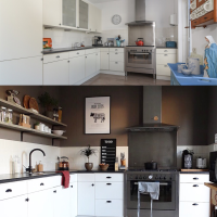 Ons nieuwe huis, before and after